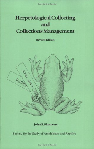 Herpetological Collecting and Collections Management