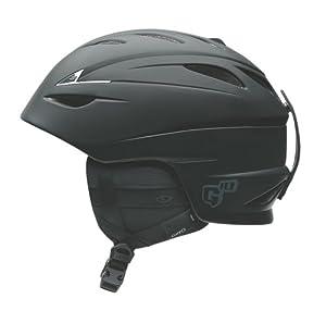 Giro G10 2009 Snow Helmet (Matte Black, Small)