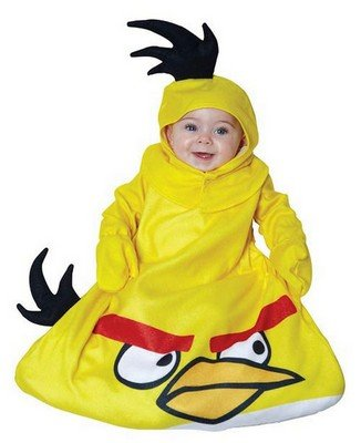 Angry Birds Costumes Yellow Bird Baby Bunting