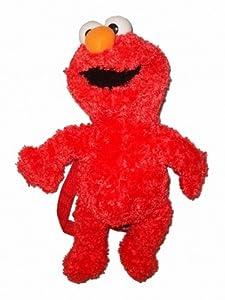 Sesame Street Elmo Plush Doll Backpack Bag 17 In by Sesame