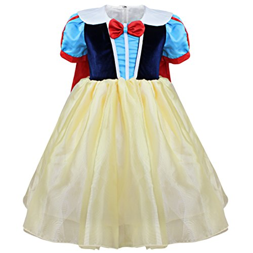 YiZYiF Baby Girls Snow White Princess Fancy Dress Up Halloween Christmas Outfits