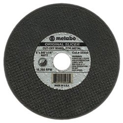 "Brand New Metabo Slicer Cut Off Wheel 6/"" X .040/"" Box 50"