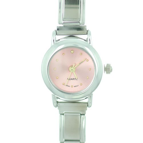 Round Pink Best Gifts $20 Italian Charm Watches