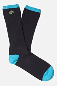 Men's Classic Tip Detail Crew Sock