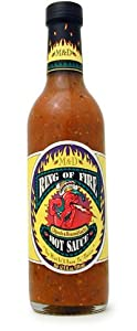 Ring Of Fire Chipotle Roasted Garlic Sauce 125 Oz