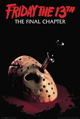 Friday The 13Th Poster Part 4 Jason Mask New Rare 24409 Poster Print, 24x36