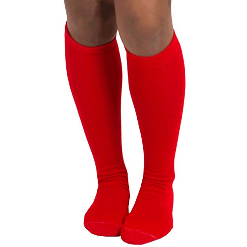 Chrissy's Socks Women's Thin Solid Knee High Socks