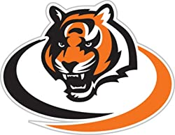 "Cincinnati Bengals Window Film 12"" Die-Cut - Bengals Window Film"
