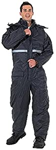 Endurance Padded Waterproof Thermal Fishing / Camping Coverall with Hood (LARGE) by RC
