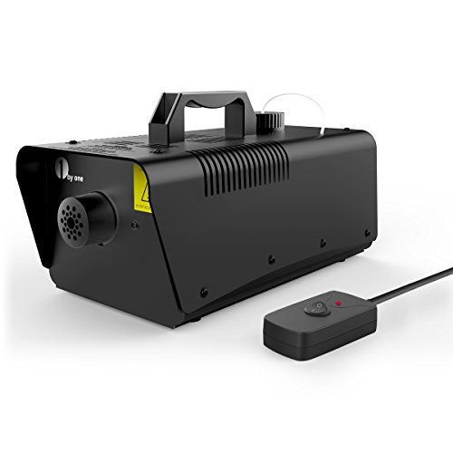 1byone 700 Watt Fog Machine with Wired Remote Control Fogger -  900ml Tank Capacity (Fog Machine With Timer compare prices)