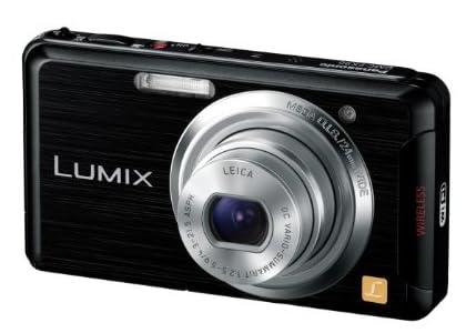 Panasonic デジタルカメラ ルミックス Wi-Fi搭載 ブラック DMC-FX90-K