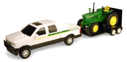 Ertl John Deere Pickup Set With 4020, 1:32 Scale (1 32 Die Cast Trucks And Trailers compare prices)