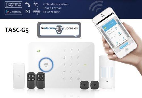 Alarma inalámbrica con conexión SMS