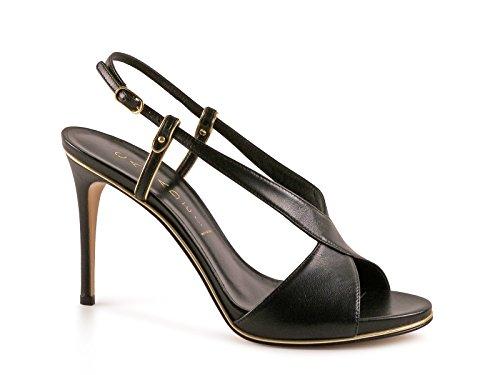 Sandali tacco alto Casadei donna in pelle nero - Codice modello: 5113N822 ET5T305M45 - Taglia: 37 IT