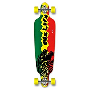 Buy YOCAHER Drop Through Complete Longboard Professional Speed Skateboard by Punked
