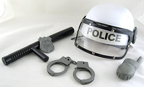 Police Playset Helmet Set