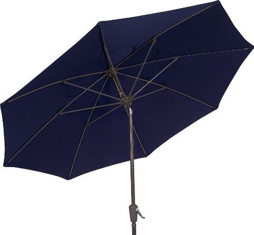 Fiberbuilt umbrellas terrace umbrella with push button for Terrace umbrellas