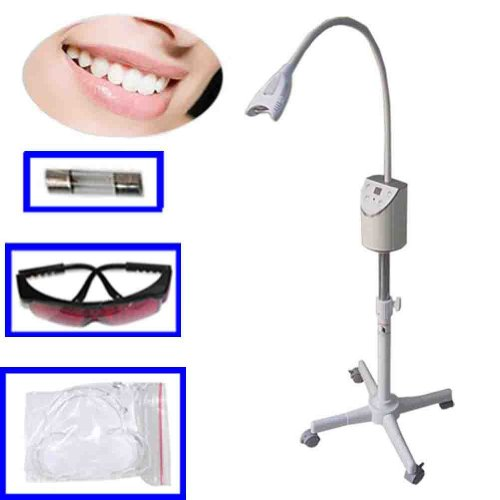 New Mobile Teeth Whitening Bleaching Led Uv Light Lamp