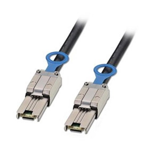 LINDY-SAS-SATA-II-Multilane-Infiniband-Cable-SFF-8088-to-SFF-8088-0-5m