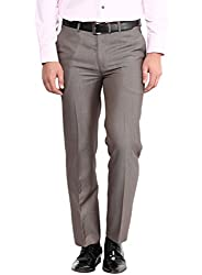 GIVO Brown Slim Fit Lounge Wear Trouser