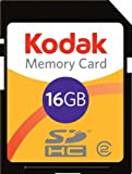 Kodak Carte SD digital 16 Go