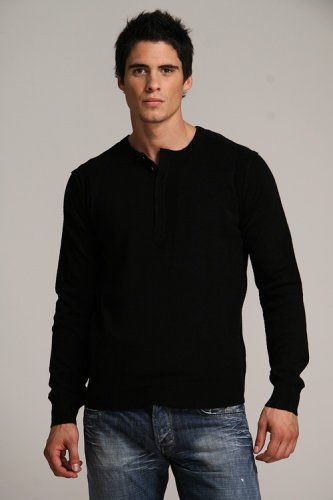 Blue Blood Black Silk Knit - Buy Blue Blood Black Silk Knit - Purchase Blue Blood Black Silk Knit (Blue Blood, Blue Blood Sweaters, Blue Blood Mens Sweaters, Apparel, Departments, Men, Sweaters, Mens Sweaters)