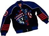Captain America Cotton Twill Youth Racing Jacket