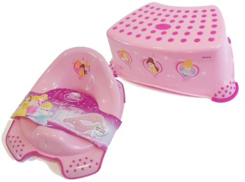 Awe Inspiring Disney Princess Toddler Toilet Training Seat Step Stool Pabps2019 Chair Design Images Pabps2019Com