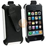 eForCity Swivel Belt Clip Holster Compatible With Apple® iPhone® 3GS 16gb / 32GB