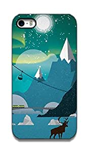 The Racoon Lean Alaska hard plastic printed back case / cover for Apple Iphone 4/4s
