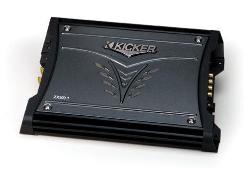 Kicker 08Zx3001 300-Watt Mono Subwoofer Amplifier