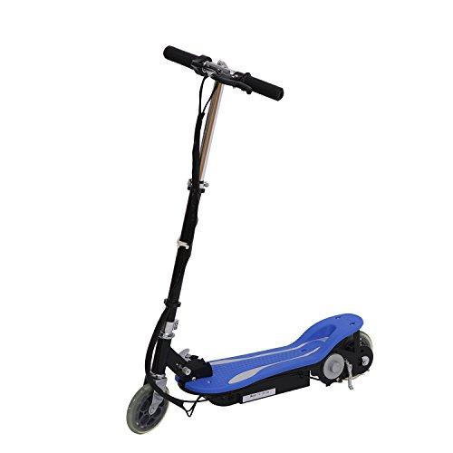 Electric 120W Kids Motorized Riding E Scooter - Blue