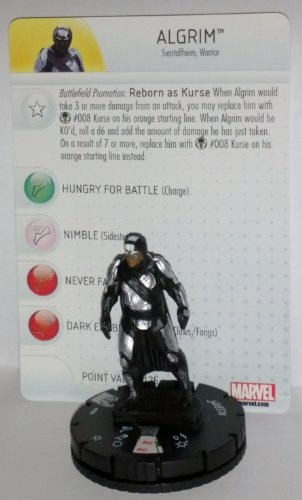 Marvel Heroclix Thor The Dark World 009 Algrim Figure with Card - 1