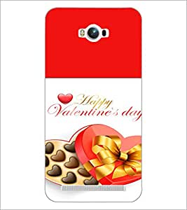 PrintDhaba Valentines Day D-4727 Back Case Cover for ASUS ZENFONE MAX ZC550KL (Multi-Coloured)