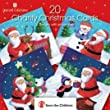 Save The Children Charity Christmas Cards - Box of 20 Santa (4 Designs)