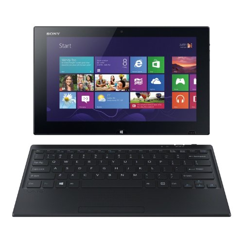 Sony Vaio Tap 11 Svt11226Cxb Tablet Pc (Black) - Intel Dual-Core I5-4210Y 1.50Ghz - 4Gb Ram - 128Gb Ssd - Webcam - Win 8.1 64-Bit - 11.6-Inch (1920X1080) Touchscreen/Digitizer Pen