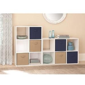Amazon Com 6 Cube Storage Bookcases