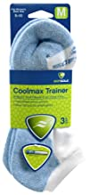 SOFSOLE Coolmax Trainer Womens Performance 3-Pack Socks