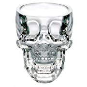 1 X Crystal Skull Pirate Shot Glass Drink Cocktail Beer Cup