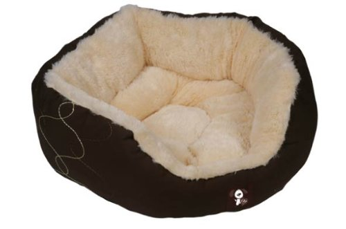 Yap Dolgi Super Soft Donut Pet Bed, 24 inch