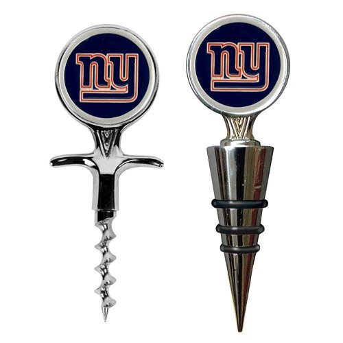 New York Giants Cork Screw and Wine Bottle Topper Set at Amazon.com