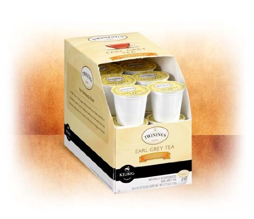Twinings Of London Naturally Decaffeinated Earl Grey Tea K-Cups