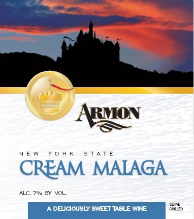 Nv Armon New York State Cream Malaga 750 Ml