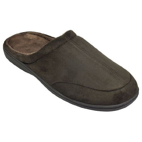 Cheap Stafford Mens Memory Foam Clog Slippers (B00416P0UY)