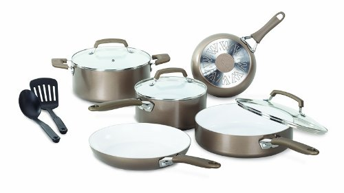 WearEver C944SA Pure Living Nonstock Ceramic Cookware Set