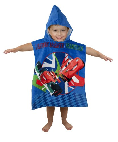 Character World Disney Cars 2 Espionage Hooded Poncho