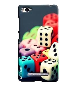 Omnam Colorful Dies Printed Designer Back Cover Case For Xiaomi Mi4