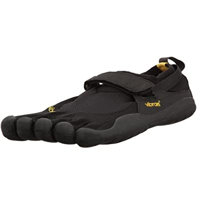 Vibram Fivefingers KSO Water Shoes (Black-Black-Black, 44 M) - M148