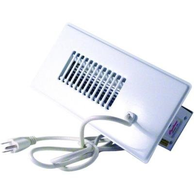 Cyclone automatic register booster fan white 4x10 heat ac for How to improve airflow in vents