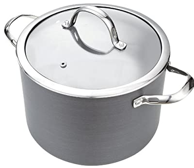 Cooks Standard NC-00343 Hard Anodize Premium Grade Nonstick Stockpot with Cover, 8-Quart